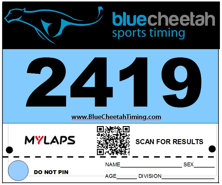 Blue Cheetah Announces the Release of a New QR Code Bib System