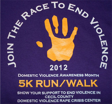 "Blue Cheetah Selected as Official Event Timer for the ""Race to End Domestic Violence"""